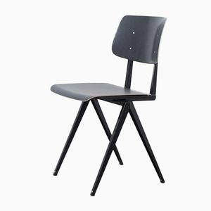 Vintage S16 Black Pagwood Chair from Galvanitas