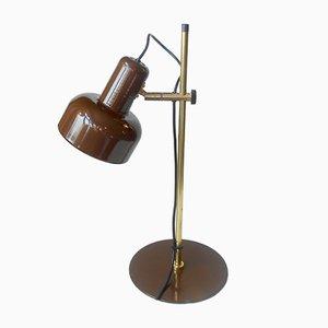 Dänische Peanut Tischlampe aus Messing von Jo Hammerborg für Fog & Mørup, 1970er