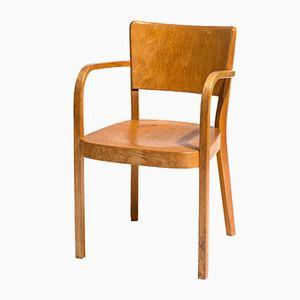 Schweizer Vintage Typenmöbel Armlehnstuhl von Max Ernst Haefeli für Horgen Glarus