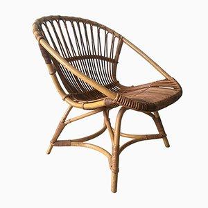 Dutch Model 508 Rattan Chair by Dirk van Sliedregt for Gebr. Jonker Noordwolde, 1949