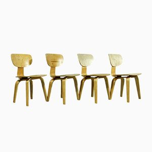 SB02 Combex Chairs by Cees Braakman for Pastoe, Set of 4