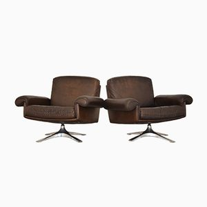 Vintage De Sede DS 31 Sessel, 1970er, 2er Set