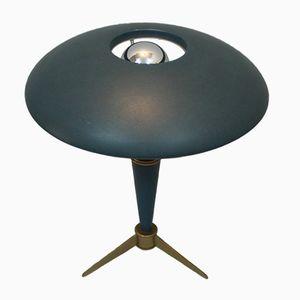 Niederländische Metall Tischlampe von Louis Kalff für Philips, 1950er