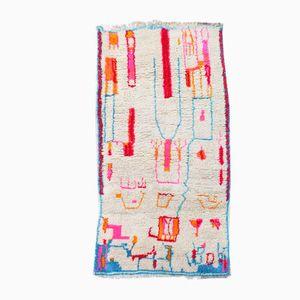 Bunter Vintage Berber Teppich