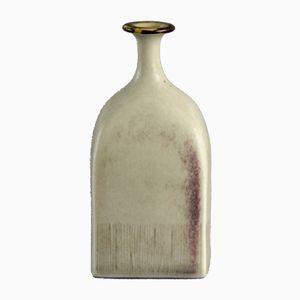 Vintage Steingut Vase von Ursula Scheid, 1977