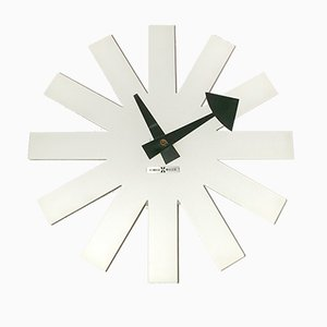 Asterisk Clock by Irving Harper for Howard Miller, 1960s