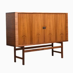 Mid-Century High Sideboard by Hans J. Wegner for RY Møbler