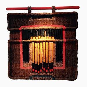 Modernistische Belgische Textil Tapisserie