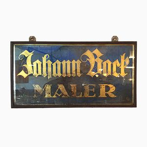 Antique German Painter's Sign