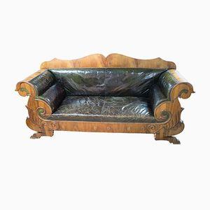 Antique Biedermeier Sofa, 1830s