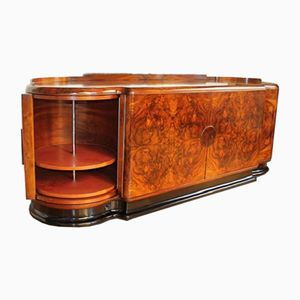 Walnut Veneer Sideboard by Jindrich Halabala for UP Zavody, 1930s