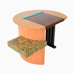 Italian Sophia Writing Desk by Aldo Cibic for Memphis Milano, 1980s