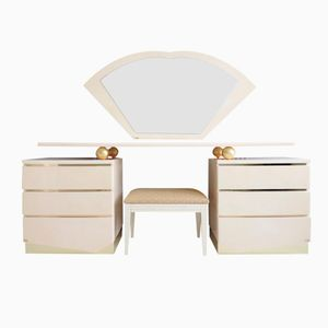 Vanity Set de Maville Interiors, France, 1980s