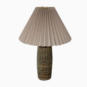 Vintage Swedish Stoneware Table Lamp by Gunnar Nylunf for Rörstrand