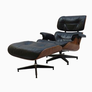 Eames Lounger and Ottoman Set by Charles & Ray Eames for Herman Miller, 1970
