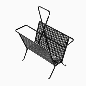 French Magazine Rack by Mathieu Matégot, 1950s