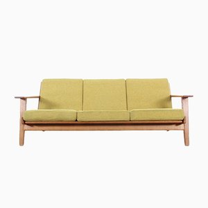 GE-290 Drei-Sitzer Sofa von Hans J. Wegner für Getama, 1959