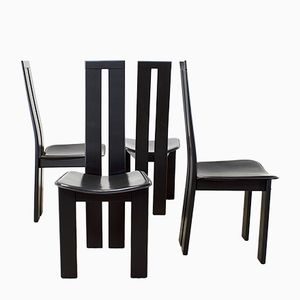 Tripod Dining Chairs by Pietro Costantini for Ello, 1970s, Set of 4