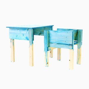 Niederländischer Schreibtisch und Stuhl von Lucas Maassen & Sons für kinder MODERN, 2013