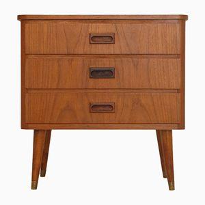 Small Swedish Teak Dresser, 1960s