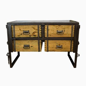vintage vertiko kommode von robert slez k bei pamono kaufen. Black Bedroom Furniture Sets. Home Design Ideas