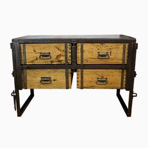 vintage vertiko kommode von robert slez k bei pamono kaufen. Black Bedroom Furniture Sets. Home Design Ideas