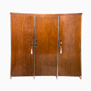Czech Bauhaus Armoire by Hermann John Hagemann for Mücke & Melder, 1930s