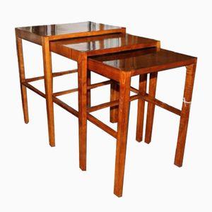 Tables Gigogne H-50 par Jindrich Halabala pour UP Zavody, 1935