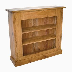 Antique Small Wooden Shelving Unit, 1890s