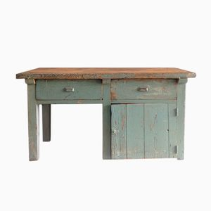 Vintage French Worktable, 1950s