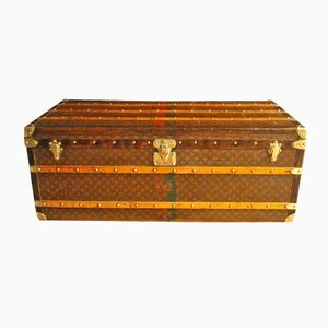Long Steamer Trunk from Louis Vuitton, 1920s