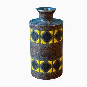 Italienische Keramikvase von Aldo Londi für Bitossi, 1960er