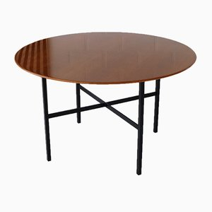 Vintage Belgian Teak Dining Table by Florence Knoll