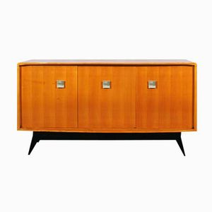 Small French Cubist Sideboard, 1950s