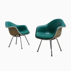 German DAX Easy Chairs by Charles & Ray Eames for Vitra, 1970s, Set of 2