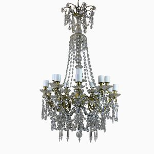 French Napoleon III Chandelier, 1870s