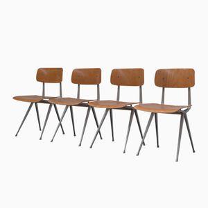 Niederländische Result Stühle von Friso Kramer für Ahrend de Cirkel, 1950er