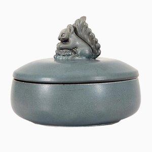 Keramik Bonbon Schale mit Deckel von Bing and Grondahl