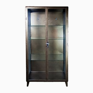 Polish Doctor's Medical Cabinet in Antique Gold, 1920s