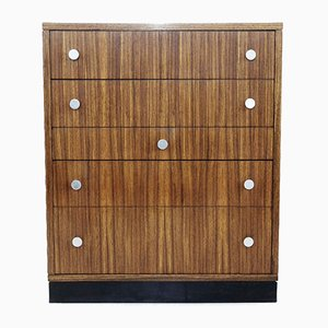 Zingana Wood Chest Of Drawers by Alfred Hendrickx for Belform