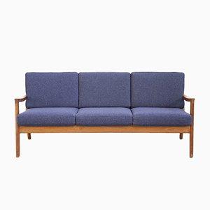 Dänisches Mid-Century Drei-Sitzer Sofa von Ole Wanscher für France & Son