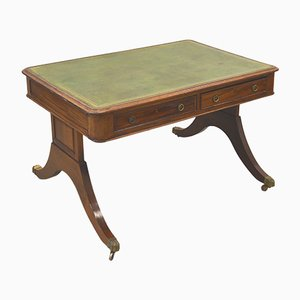 English Victorian Partner Desk, 1870s