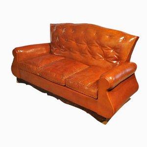 Sofa im Chesterfield Stil, 1940er