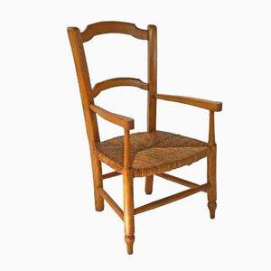 Antique French Children's Armchair