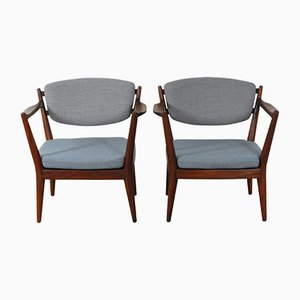 Kaminstolen Chairs by Fredrik Kayser for Rastad & Relling, Set of 2