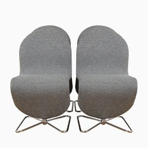 Model 123 Chairs by Verner Panton for Fritz Hansen, 1978, Set of 4
