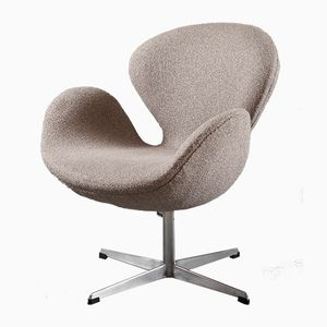 Danish Swan Chair by Arne Jacobsen for Fritz Hansen, 1960s