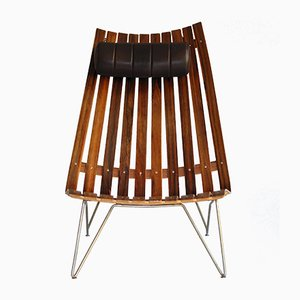 Scandia Senior Lounge Chair by Hans Brattrud for Hove Møbler