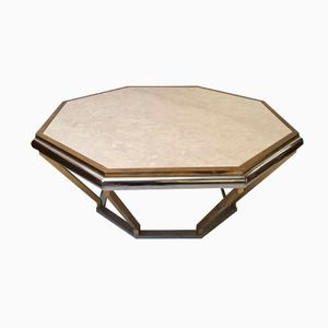 Italian Octagonal Coffee Table, 1970s
