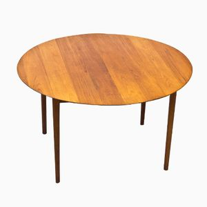 Model 311 Teak Dining Table by Peter Hvidt & Orla Mølgaard, 1950s